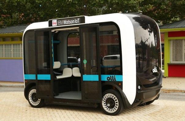 Напечатан первый в мире автобус на 3D-принтере