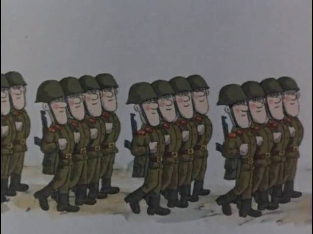 Вова Сидоров Мультик про Советскую Армию