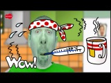 How are you? I´m Thirsty, Hungry and Sick | English for Kids