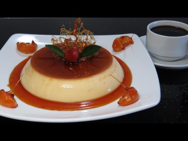 ФЛАН или КРЕМ-КАРАМЕЛЬ ☀ испанская французская кухня ☀ Flan creme caramel recipe LAM BANH FLAN