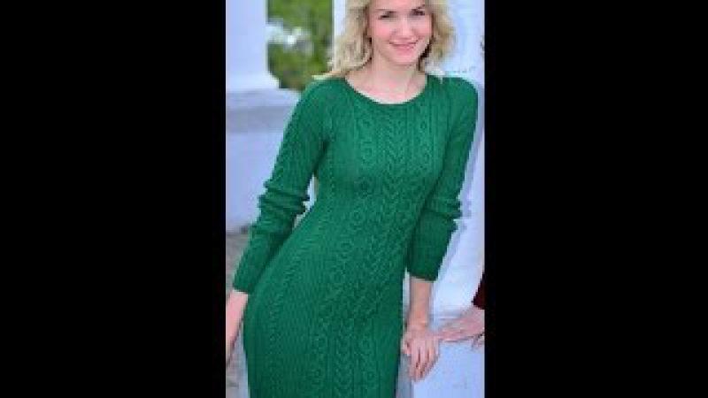 Бесплатный МК часть 3 по вязанию облегающего платья Марсала поднимаем петлю исправляем ошибки