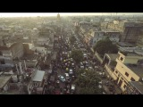 Природа Индии с высоты птичьего полета с дрона Индия путешествие