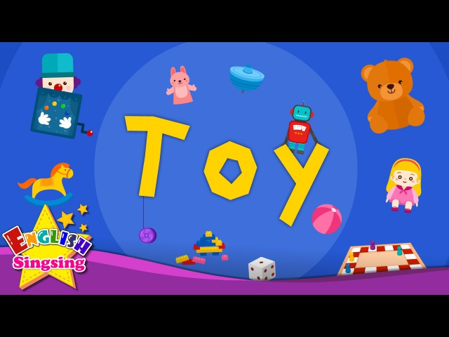 Kids vocabulary - Toy - toy vocab - Learn English for kids - English educational video