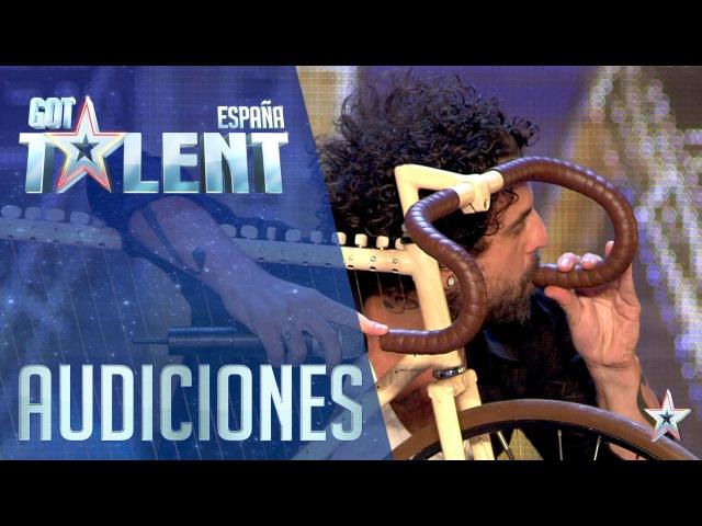 Esta bici no sólo sirve para dar pedales Audiciones 3 Got Talent España 2016