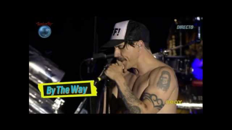 Red Hot Chili Peppers By the Way Rock in Rio Madrid 2012 HD Live