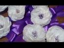 Свадебное украшение для подружек невесты. Канзаши.