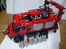 LEGO RC Unimog Firetruck MOC Technic motorized/Full PF
