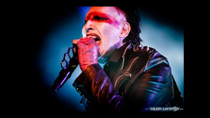 Marilyn Manson - The Beautiful People, live 2016