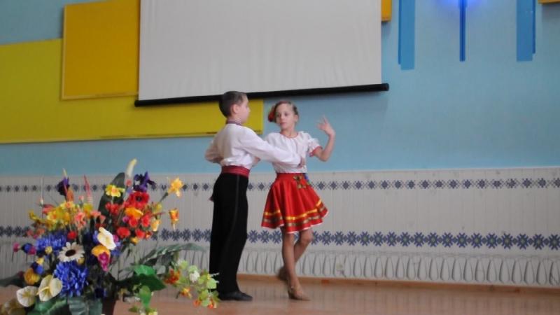 15-річчя Ліцею. Душа України Олексій та Даринка