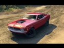Spin Tires - Dev Demo - Ford Mustang Boss 429