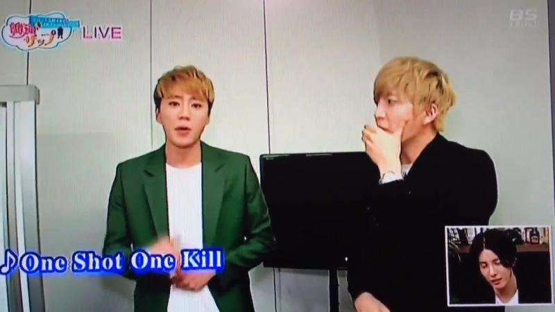 [VK] 12.04.2016 U-KISS (Soohyun Jun) cut @ S Sky Perfect! 「Hanryu Zap ~Savanna Takahashi K Ulzzang Hunting~」