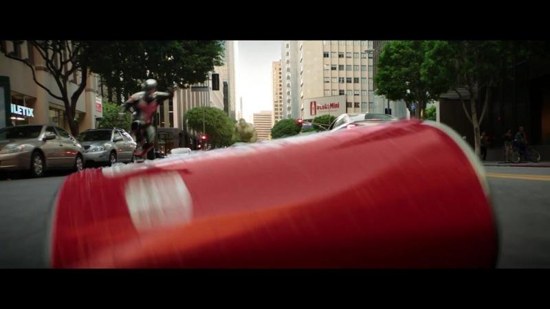 Новая реклама Кока-Колы (Халк против Человека-муравья)