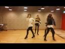 [Mirrored] KISSCRY(키스앤크라이)_ DOMINO GAME (도미노 게임) Dance Practice