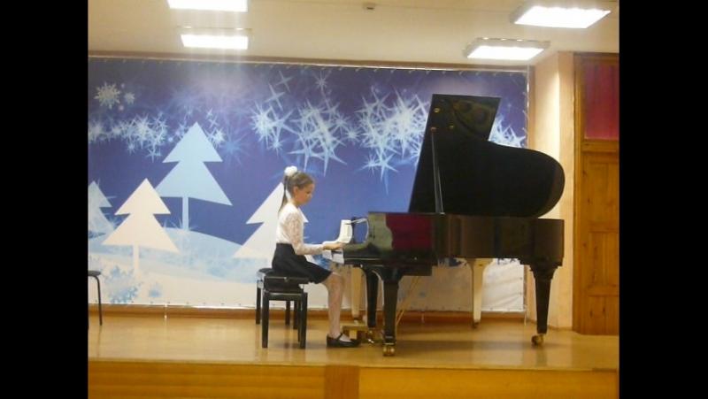 академический концерт - этюд А. Гедике №11