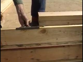 2 часть обучающего видео по строительству каркасного дома от Ларри Хона