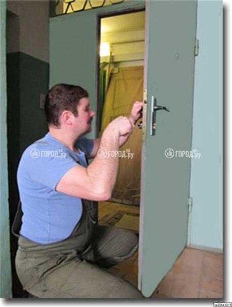 Установка китайской двери своими руками