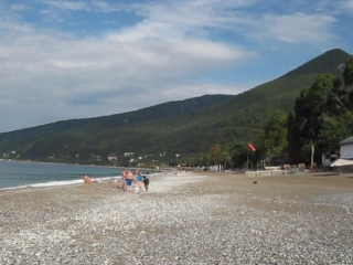 Пляж сан. им. Челюскинцев