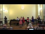 Конкурс камерних ансамблвMexican folk tuneМексиканська народна мелодя