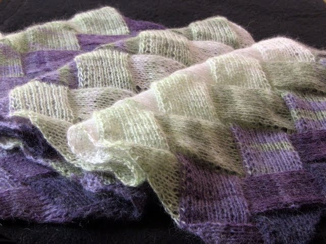 Learn to Knit Entrelac: Part Two