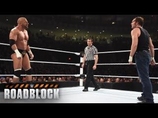 WWE Network: Dean Ambrose vs. Triple H - WWE World Heavyweight Title Match: WWE Roadblock 2016