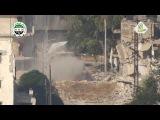 مميز || تدمير دبابة تي 72 بصاروخ ميتس ع جبهة الخ&#1