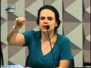 Randolfe Rodrigues (REDE - AP) questiona a autora do impeachment sobre as ações praticadas por Temer
