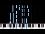 Дашкевич В. - Увертюра(из к ф Шерлок Холмс и Доктор Ватсон)-100 speed- Piano Tutorial(Synthesia)
