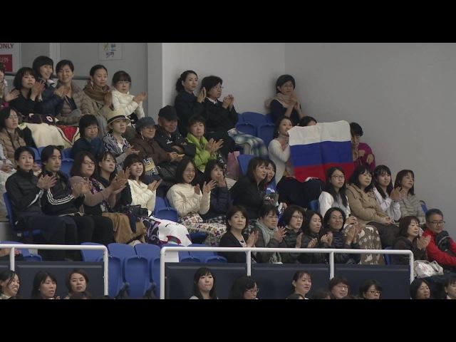Анастасия Шпилевая - Григорий Смирнов, КТ, ЮГП в Японии 2016