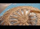 «Ручная работа». Блюдо в технике джутовая филигрань (22.06.2016)