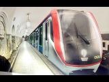 Новые вагоны в метро 765 серия New subway train