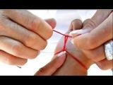 Как правильно завязать красную нить