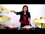 The Eagles - Hotel California - Drum Cover by Nur Amira Syahira