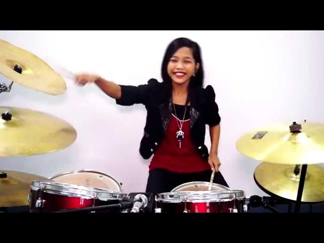 The Eagles - Hotel California - Drum Cover by Nur Amira Syahira