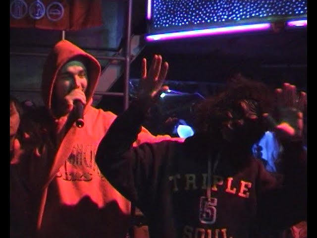 Kunteynir vs. ALL - Freestyle Battle @ Коммуна, 19.03.2005, Москва
