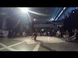 B-boy solo PRO Fiks(win) vs K-mel