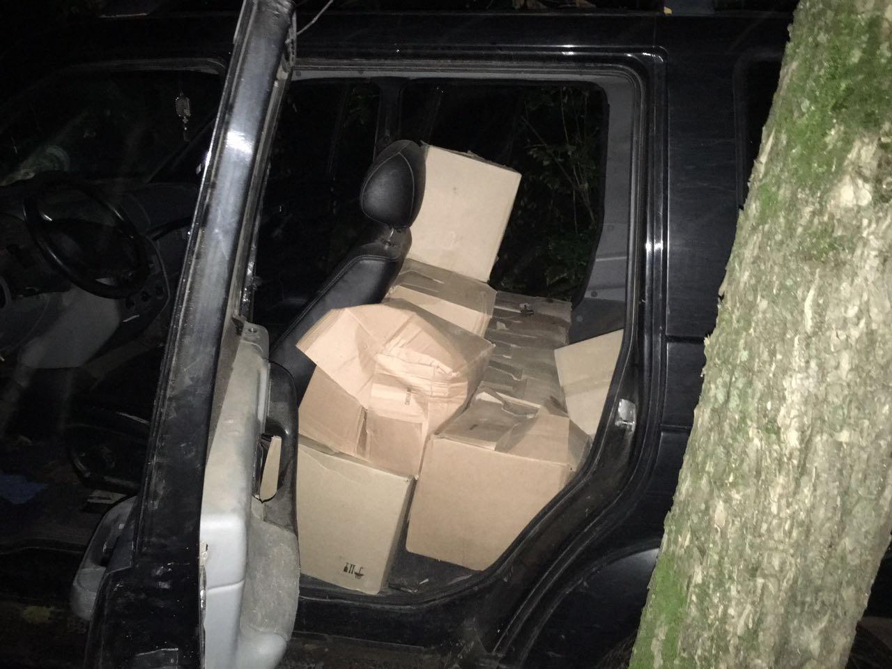 Донские пограничники задержали контрабандиста с крупной партией спирта