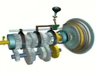 Принцип работы механической коробки передач МКПП