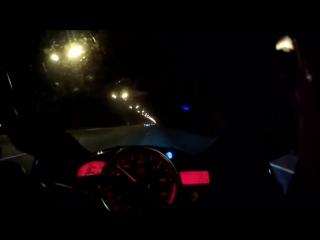 На Ямахе по ночному МКАДу со скоростью 270 км в час