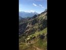 Schellenberg гора в Австрии на границе с Германией