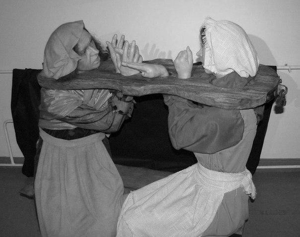 пытки женщин в средневековье, Скрипка сплетниц