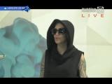 Наргиз Закирова в прямом эфире программы
