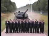 Экстренное торможение танка leopard