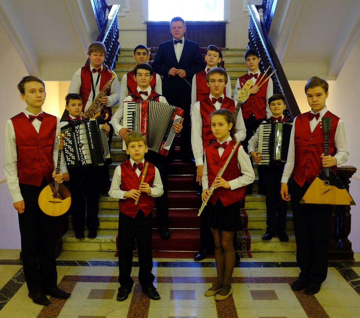 Детский ансамбль войск национальной гвардии РФ