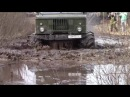 OFF Road Trucks 6x6 Ultimate Mudding in Siberia Army Trucks ZIL131 vs GAZ66