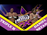 WWE 2k15[ Simulation ] Daniel Bryan VS Triple H Wrestlemania 30