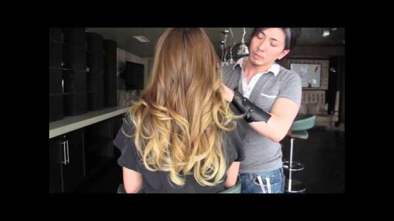 Victoria's Secret OMBRE Hair Color Makeover