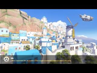 Overwatch Beta: Map Ilios