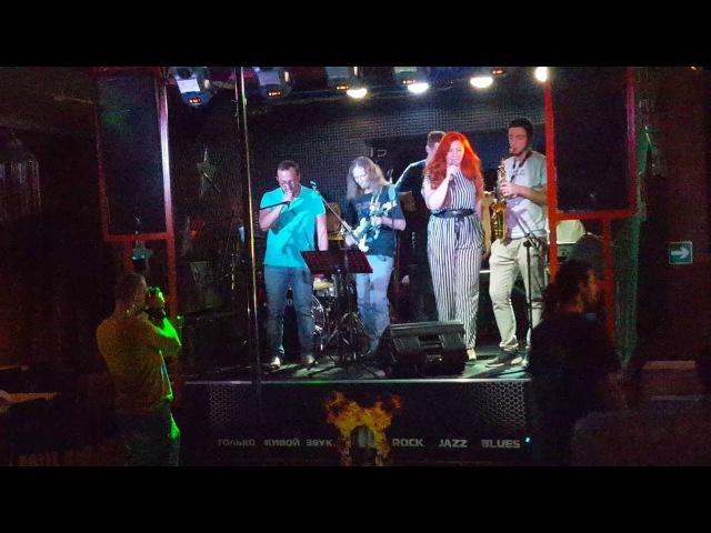Lucky band feat. Михалыч - hit the road jack (17.07.2016 ночной клуб Маяк)