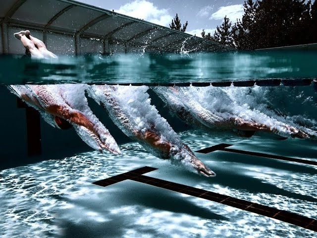 Как нырять с головой под воду в бассейне или на море