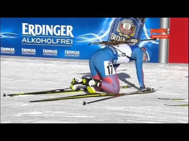 Подчуфарова Победа в спринте на этапе в Антхольце 21 01 2016